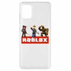 Чехол для Samsung A51 Roblox Heroes