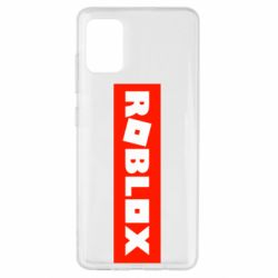Чехол для Samsung A51 Roblox suprem
