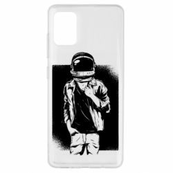 Чехол для Samsung A51 Рок Космонавт