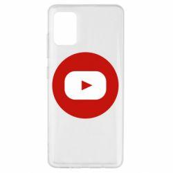 Чохол для Samsung A51 Round logo