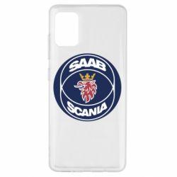 Чехол для Samsung A51 SAAB Scania