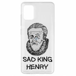 Чехол для Samsung A51 Sad king henry