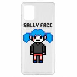 Чохол для Samsung A51 Sally face pixel