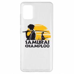 Чохол для Samsung A51 Samurai Champloo