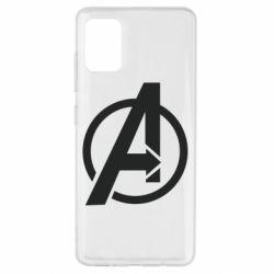 Чохол для Samsung A51 Сaptain Аmerica logo