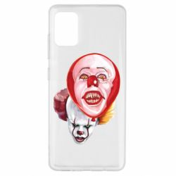 Чохол для Samsung A51 Scary Clown