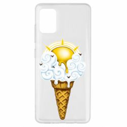 Чохол для Samsung A51 Sea ice cream