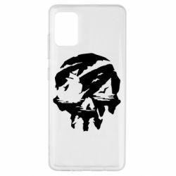 Чохол для Samsung A51 Sea of Thieves skull