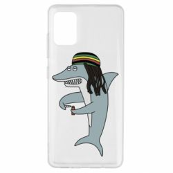 Чохол для Samsung A51 Shark Rastaman