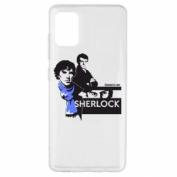 Чехол для Samsung A51 Sherlock (Шерлок Холмс)