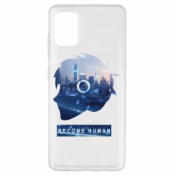 Чохол для Samsung A51 Silhouette City Detroit: Become Human