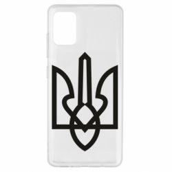 Чехол для Samsung A51 Simple coat of arms with sharp corners