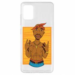 Чохол для Samsung A51 Singer Tupac Shakur
