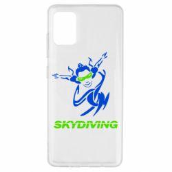 Чохол для Samsung A51 Skidiving