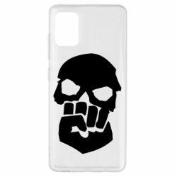 Чехол для Samsung A51 Skull and Fist