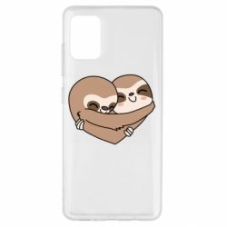 Чохол для Samsung A51 Sloth lovers