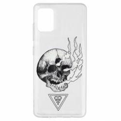 Чохол для Samsung A51 Smoke from the skull