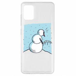 Чохол для Samsung A51 Snowman. It's Cold!