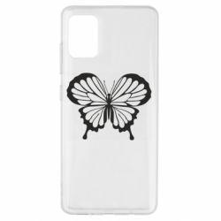 Чехол для Samsung A51 Soft butterfly