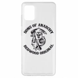 Чехол для Samsung A51 Sons of Anarchy