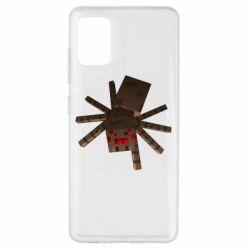 Чохол для Samsung A51 Spider from Minecraft