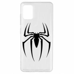 Чехол для Samsung A51 Spider Man Logo