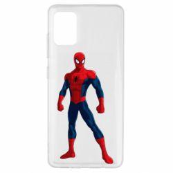 Чохол для Samsung A51 Spiderman in costume