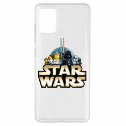 Чохол для Samsung A51 Star Wars Lego