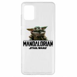Чехол для Samsung A51 Star Wars Yoda beby
