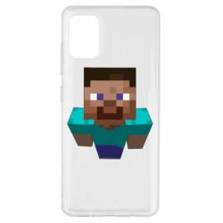 Чехол для Samsung A51 Steve from Minecraft