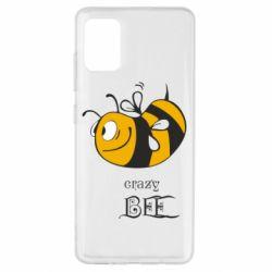 Чехол для Samsung A51 Сумасшедшая пчелка