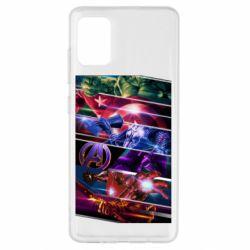 Чехол для Samsung A51 Super power avengers