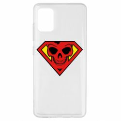 Чехол для Samsung A51 Superman Skull