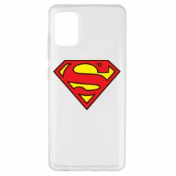 Чехол для Samsung A51 Superman Symbol