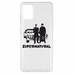 Чохол для Samsung A51 Supernatural Брати Вінчестери