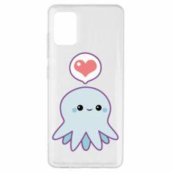 Чехол для Samsung A51 Sweet Octopus