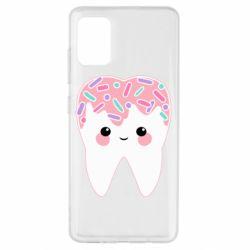 Чохол для Samsung A51 Sweet tooth