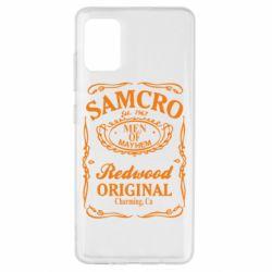 Чехол для Samsung A51 Сыны Анархии Samcro