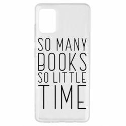 Чохол для Samsung A51 Так багато книг так мало часу