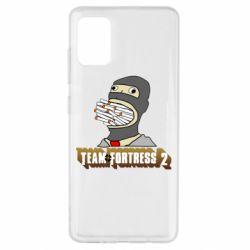 Чехол для Samsung A51 Team Fortress 2 Art