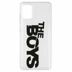 Чехол для Samsung A51 The Boys logo