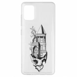 Чохол для Samsung A51 The castle is on the skull