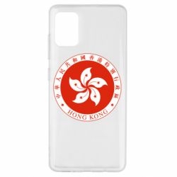 Чехол для Samsung A51 The coat of arms of Hong Kong