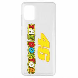 Чехол для Samsung A51 The Doctor Rossi 46