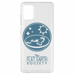 Чехол для Samsung A51 The flat earth society