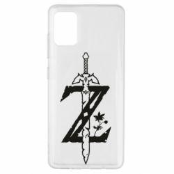 Чехол для Samsung A51 The Legend of Zelda Logo
