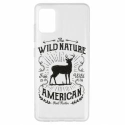Чохол для Samsung A51 The wild nature