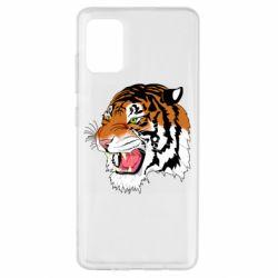 Чохол для Samsung A51 Tiger roars
