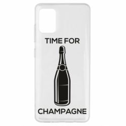 Чохол для Samsung A51 Time for champagne