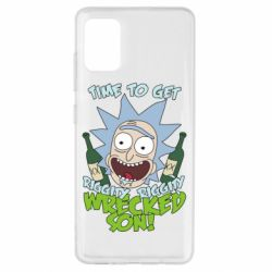 Чохол для Samsung A51 Time to get riggity wrecked son